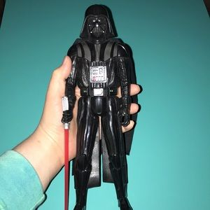 Darth Vader Star Wars Figure with Saber